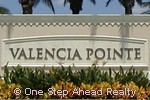 entrance to G.L. Homes Valencia Pointe community of western Boynton Beach, Florida